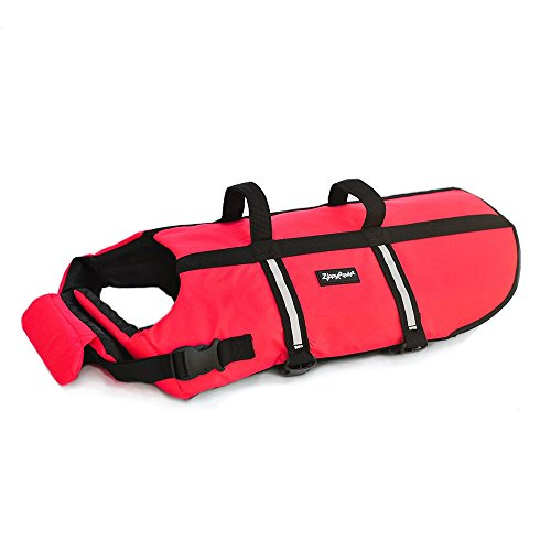 ZippyPaws - Adventure Life Jacket for Dogs - (S) - Red - 1 Life Jacket