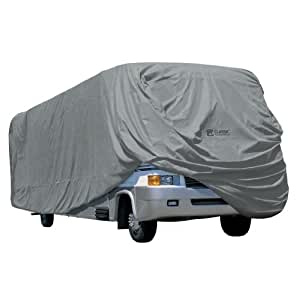 Classic Accessories 80-164-191001-00 Overdrive PolyPro 1 RV Cover for 33' to 37' Class A RVs
