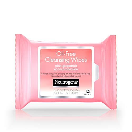 Neutrogena Oil-Free Cleansing Wipes Pink Grapefruit, 25 -
