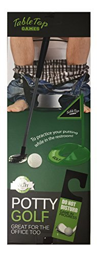 Golf Guaranteed Tee Time Potty Putter
