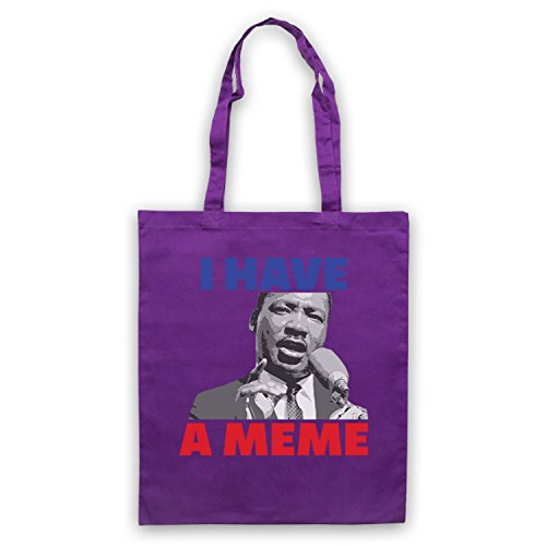 I Have A Meme Martin Luther King Bolso Morado