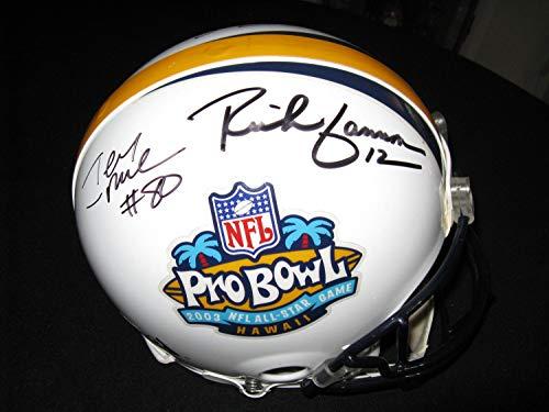 Rich Gannon Jerry Rice Oakland Raiders Autographed Signed Authentic Pro Bowl Helmet Memorabilia PSA/DNA (Jerry Rice Signed Pro Helmet)