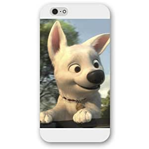 "Customized White Frosted Disney Cartoon Movie Bolt iPhone 6 Plus Case, Only fit iPhone 6 5.5"" WANGJING JINDA"