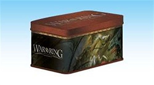 War of the Ring 2nd Edition - Card Box and Sleeves (120) by Ares Entertainment