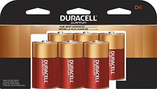 Duracell quantum d (qt1300), 6-count for sale  Delivered anywhere in Canada