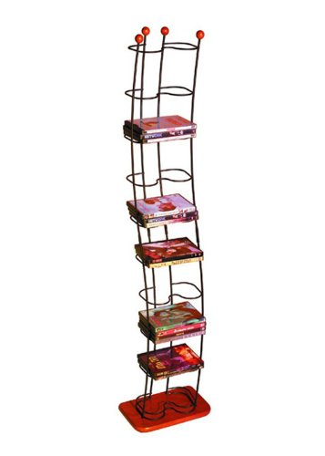 Wire Dvd Rack - 6