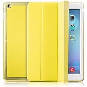 conseguir Caso Cuerpo color sólido de la PU para el iPad Completo Aire , Gris