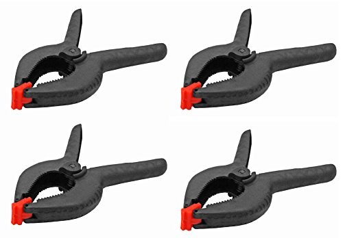 Cheaplights 9 Inch Nylon Spring Clamps Set of 4
