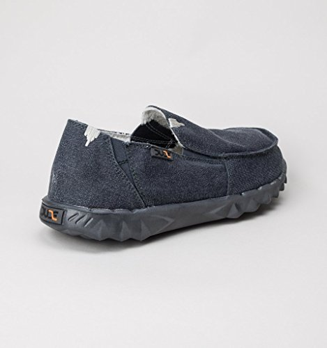 Hey Dude Men's Farty Chalet Canvas Moccasins Oceano TkDhzi0l