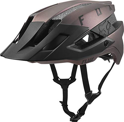 Fox Head Flux MTB Bike Helmet (Solid Black Iridescent, L/XL) (Best Mtb Trail Bike)