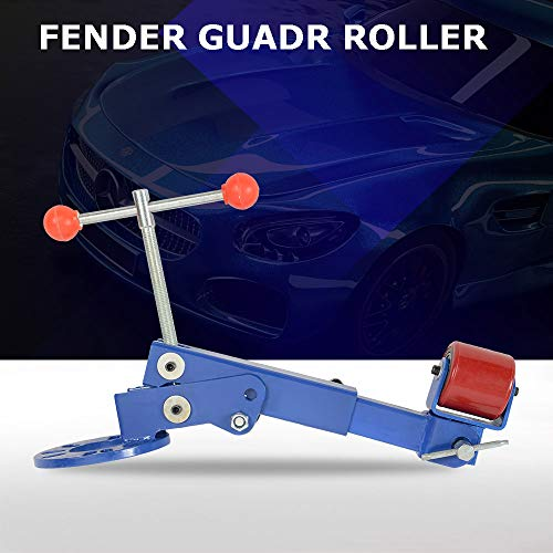 - Heavy Duty Fender Roller Tool Reforming Extending Auto Body Wheel Arch Roller Lip Flaring Former for Automobile Maintenance, Blue