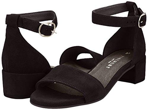 Nero Sandali Aperta black Donna Pavement 017 Ninna Punta Suede 5pPqwt6Xxt