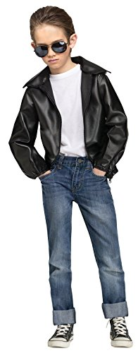 [Rock n' Roll 50's Boys Jacket] (Rock N Roll Costumes For Kids)