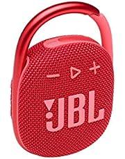 JBL Clip 4 Waterproof Bluetooth Wireless Speaker - Red