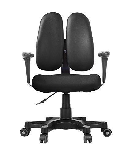 DUOREST DR 250G Leaders Office U0026 Desk Chair With 3D Design Backrest,  Urethane Caster