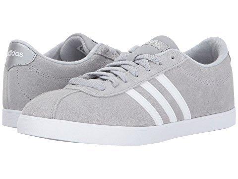 adidas New Women's Courtset Sneaker Onix/White 7