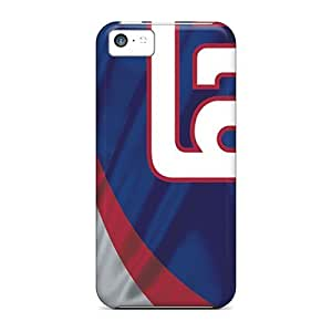 Awesome New York Giants Flip Cases With Fashion Design For Iphone 5c