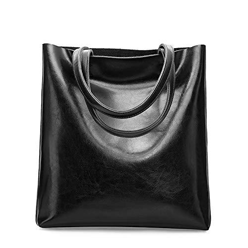 Sacs Et Cadeaux d'automne À Cuir noir Capacité Main en Sacs JJZHY À Main Grande d'hiver Mode Simple 7SwXYp