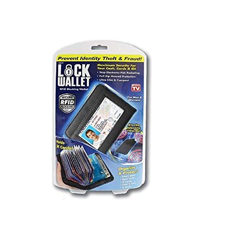 Lock Wallet RFID Blocking