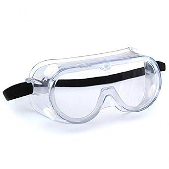 Carejoy Gafas de seguridad Resistente al impacto y a los químicos Resistente a los gafas Claro ...