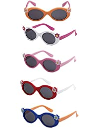 Eason Eyewear Toddler Kids Summer Sunglasses 5Pairs Features