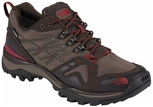 (The North Face Men's Hedgehog Fastpack Gore-Tex (Wide) - Coffee Brown & Rosewood Red - 160)