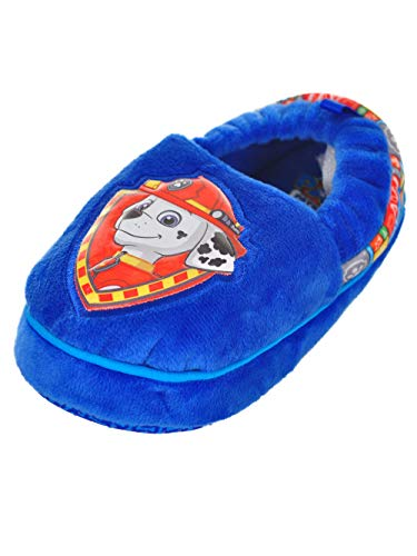Paw Patrol Chase & Marshall Child Slippers Size 5/6