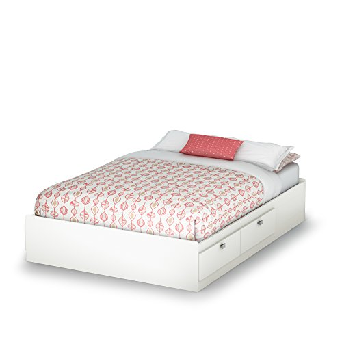 Kids Personalized Full Headboard (South Shore Spark Full Mates Bed, Pure White)