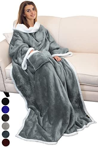 Catalonia Wearable Blanket Sleeves Sleeved product image