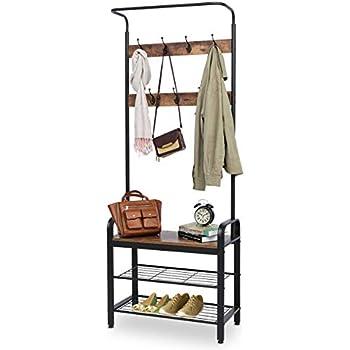 Amazon.com: TomCare - Perchero con 3 estantes para zapatos ...