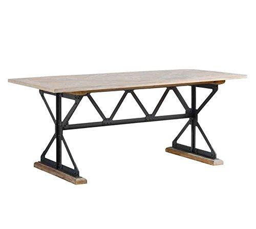 My-Furniture - Barras - Mesa de Comedor Industrial de Madera ...
