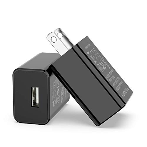 """AOKER Kindle Fire Fast Charger, [UL Listed] Rapid Charger AC Adapter 2A with 6.6 Ft Micro USB Cable for Kindle Fire HD, Fire 7 8 10 Tablet and Phone HDX 6"""" 7"""" 8.9"""" 9.7"""" Tab Power Supply Cord"""