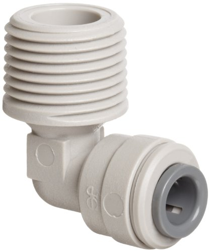 John Guest Pipe Fittings (John Guest Acetal Copolymer Tube Fitting, Rigid Elbow, 1/4
