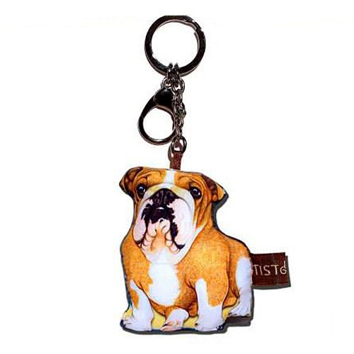 Sansukjai Key ring Key chain Bulldog Fabric Dog lover High 10 - Tiffany Store Usa Locator