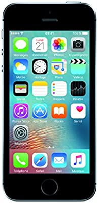 Apple iPhone SE - Smartphone de 4 (Chip A9, cámara de 12 MP, 16 ...
