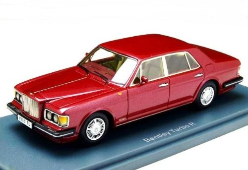 1/43 ベントレー ミュルザンヌ ターボ R Mレッド(1980-85) NEO44165