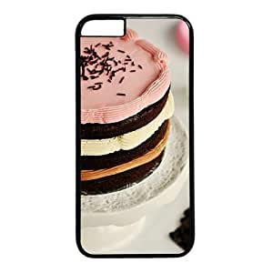 "Tasty Cake Theme Case for iPhone 6(4.7"") PC Material Black"