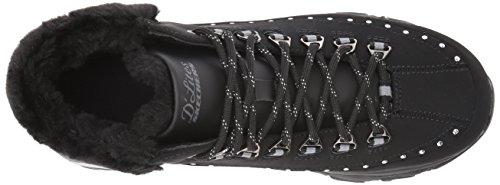 Mujer Cuero Skechers Skechers Negro blk 48813 g0qAUv