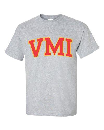 NCAA Virginia Military Keydets Men's T-Shirt, Large, Gray (Army Gray Tshirt)
