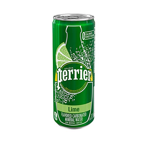 🥇 Perrier Lime Flavored Carbonated Mineral Water