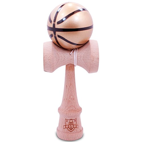 Basketball-Gold-Black-Kendama-And-Extra-String