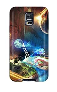 New Book Imagination Tpu Skin Case Compatible With Galaxy S5