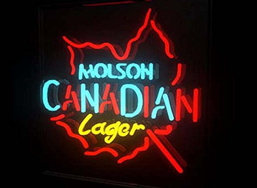 Molson Canadian Lager Neon Sign 24