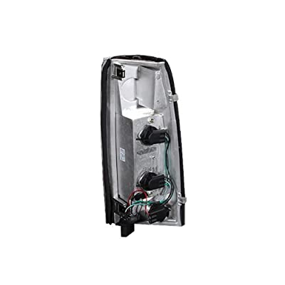 Anzo USA 211144 Chevrolet Black Clear-New Generation Tail Light Assembly - (Sold in Pairs): Automotive