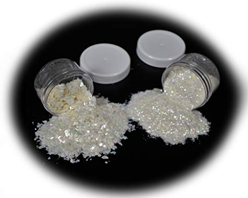 Mother-of-pearl Inlay Supplies for Woodworkers, Turners, Casters, Luthiers, Professionals and Hobbyists - Combo, 2 oz.