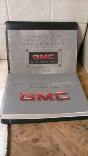 Gmc Sierra Owners Manual - 2000 GMC Sierra Owner's Manual