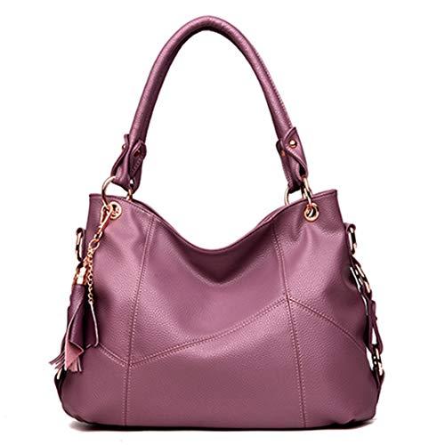 à en Sac BandoulièRe Femme pour Cuir Purple 4wzqZ6zn