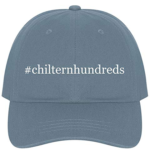 - The Town Butler #chilternhundreds - A Nice Comfortable Adjustable Hashtag Dad Hat Cap, Light Blue, One Size