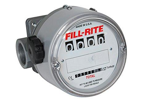 Fill-Rite TN860AN1CAB1GAC High Flow/High Pressure Rugged Application Meters, 150 PSI, 1-1/2