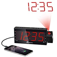 Vansky Digital Projection Alarm Clock Ra...